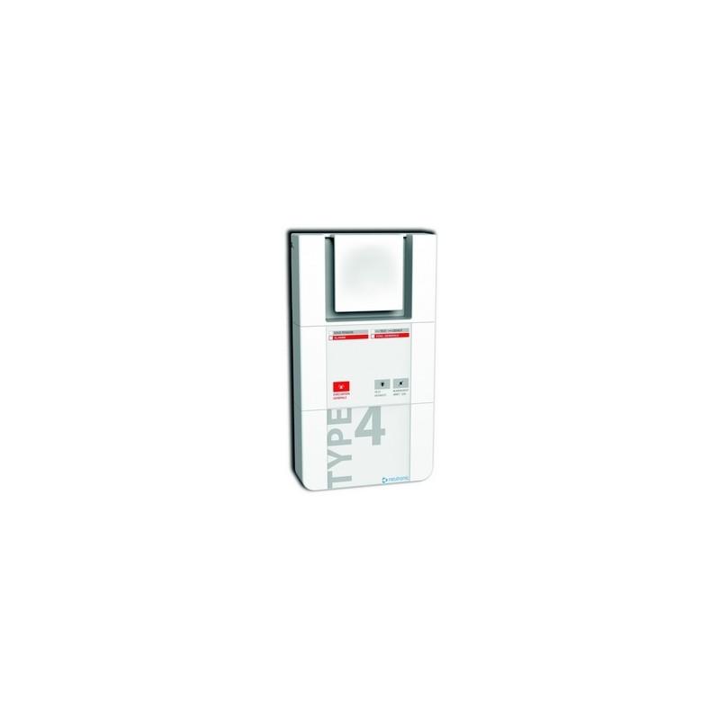 Alarme incendie type 4 - 2 boucles  TT4-2B  Neutronic