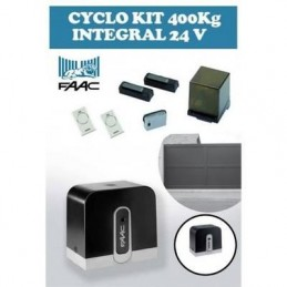 Motorisation portail coulissant FAAC CYCLO 105999144 + crémaillère
