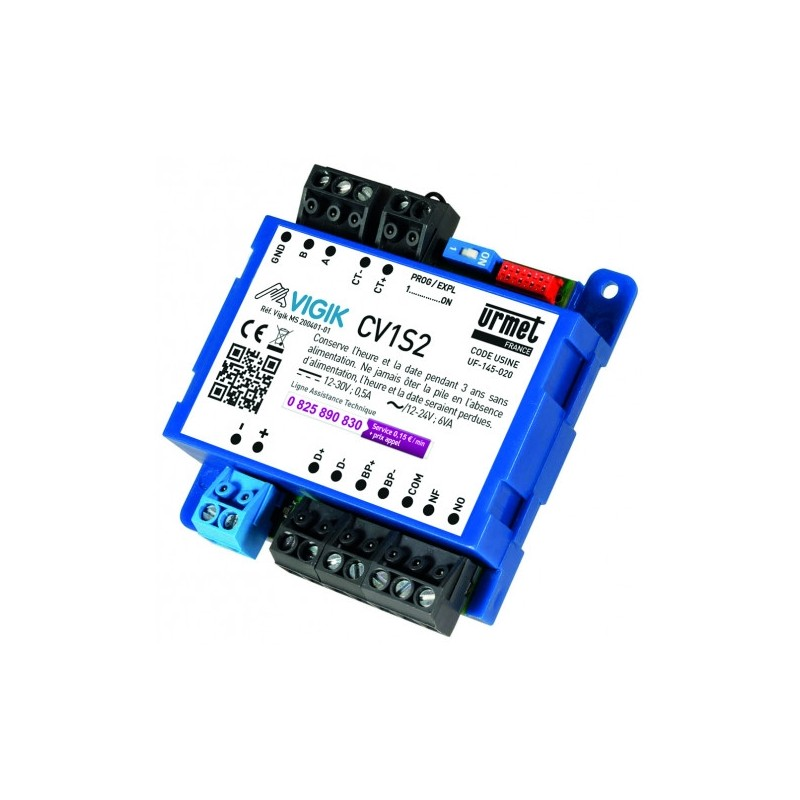 CV1S2 - Micro-centrale 1 porte VIGIK/Résidents URMET
