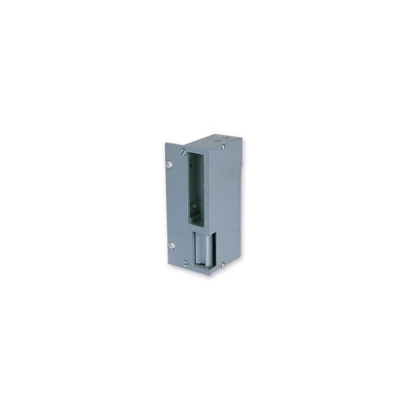 Gâche applique réversible verticale 120mm 1 temps
