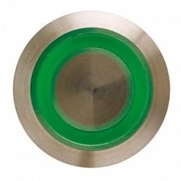 Bouton poussoir INOX vert...