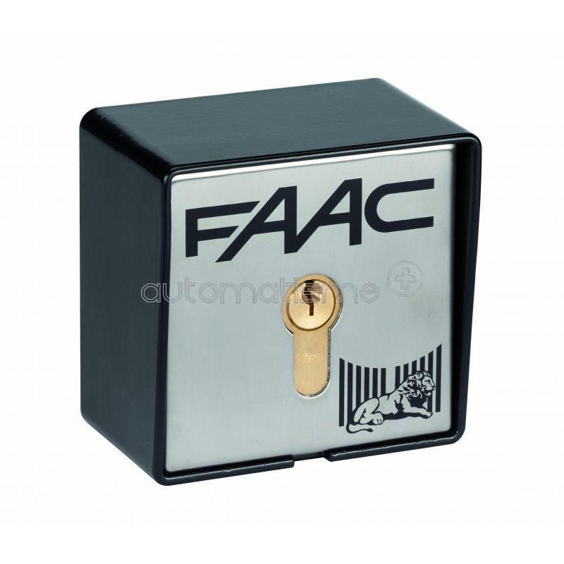 CONTACTEUR A CLE T21 A CABLE EN SAILLIE - 2 CONTACTS FAAC 401016
