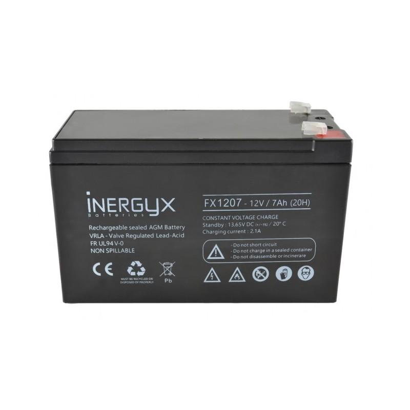 Batterie 12V rechargeable 7 Ah FR Izyx FX 1207 Izyx