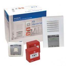 Alarme Incendie Kit Type 4 radio Nugelec  30997