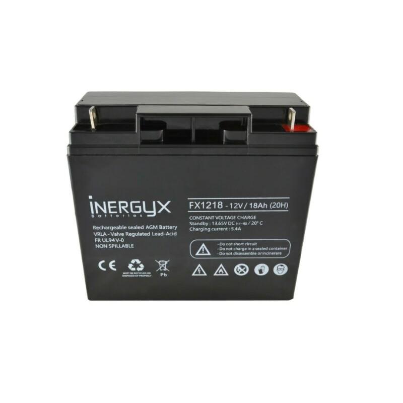 Batterie 12V rechargeable 18 Ah FR - FX 1218 Izyx Pro