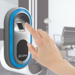 Lecteur autonome biométrique sortie relais et wiegand CDVI