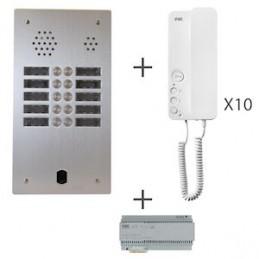 Kit Audio 2R 10Bp 2 Voice...