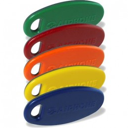 Lot de 5 badges bi-couleur...