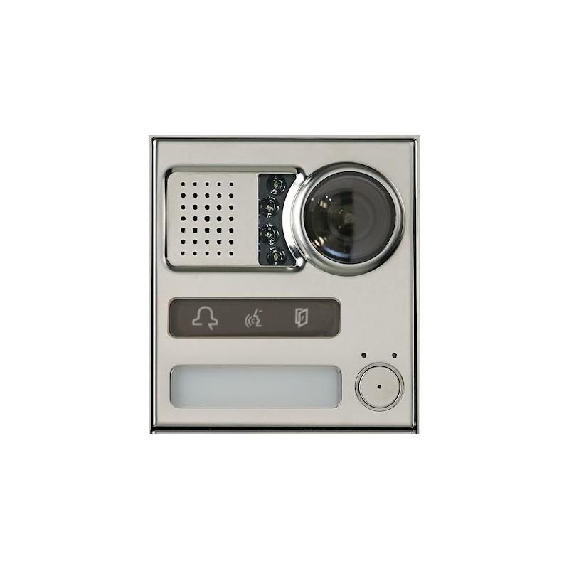 Module Sinthesi-Steel 2Voice équipé 1 bouton Urmet 1083/65