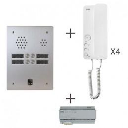 Kit Audio 2R 4 Bp 2 Voice Programmé KA83/204 Urmet