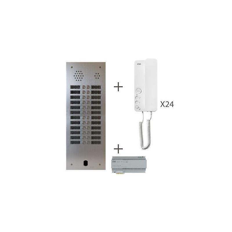 Kit Audio 2R 24Bp 2 Voice Programmé KA83/224 Urmet