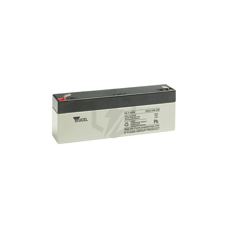 Batterie au plomb Yuasa 12V 2.1Ah  Modèle Y 2.1.-12
