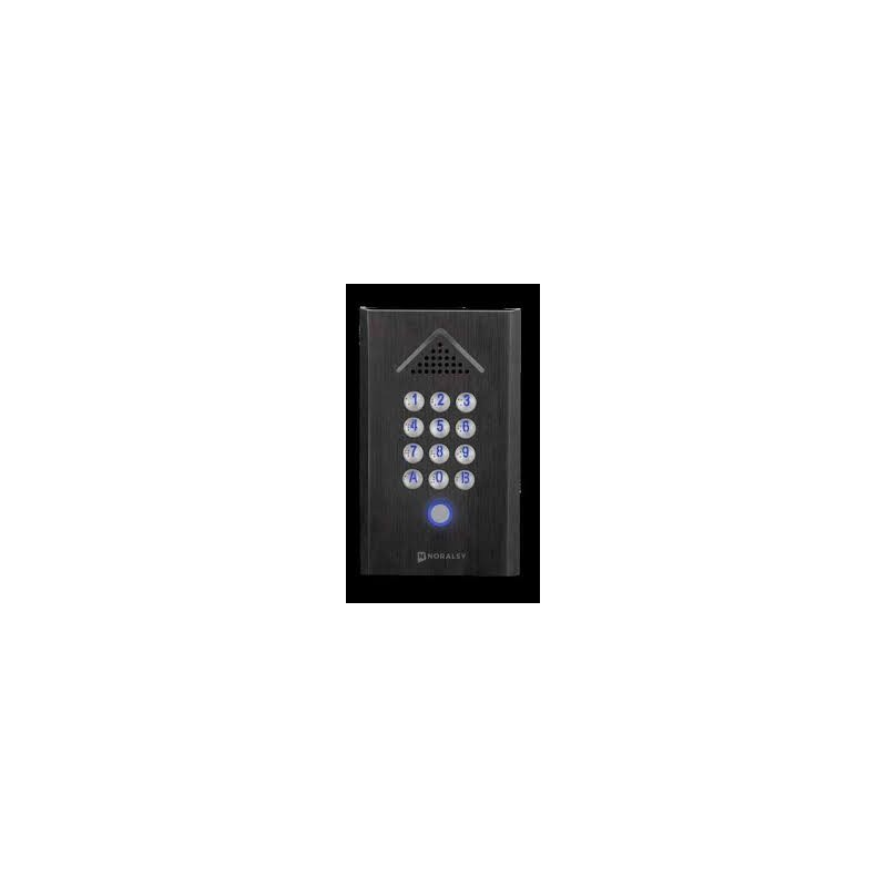 Clavier digicode Noir Noralsy PTN 410 Type Portacode Profile 2