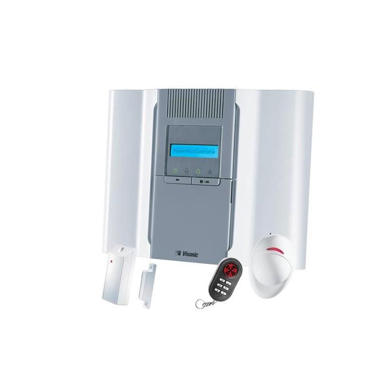 Alarme sans fil pour maison  Visonic PowerMax Pro  Kit 2