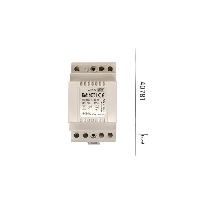 Alimentation 12 VAC  1.5 A - Aiphone 40781