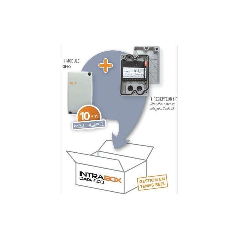 Intrabox Eco Data et module de réception HF 10 Ans
