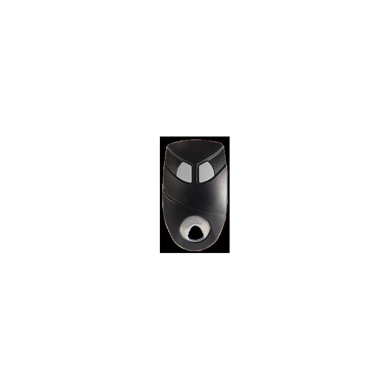 Télécommande 02 Canaux Noire HF - Intratone INT09-0101