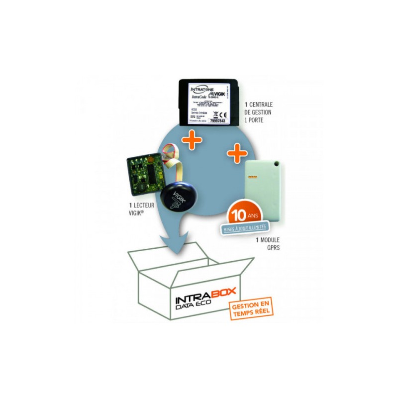 Intrabox Data Eco Lecteur De Proximité Vigik INTRATONE INT06-0102