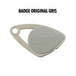 INTRATONE Vigik Badge Gris INT08-0102