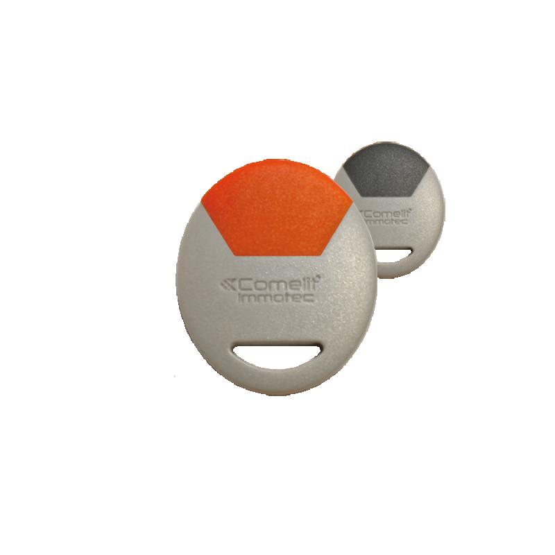 Badge Electronique De Proximité Gris/Rouge Comelit CLE/GR