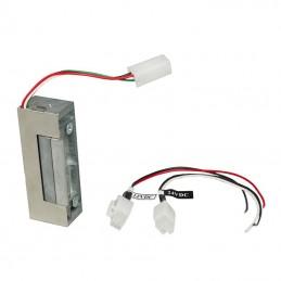 ESU900 Gâche électrique à encastrer émission/rupture 12/24V AD/DC
