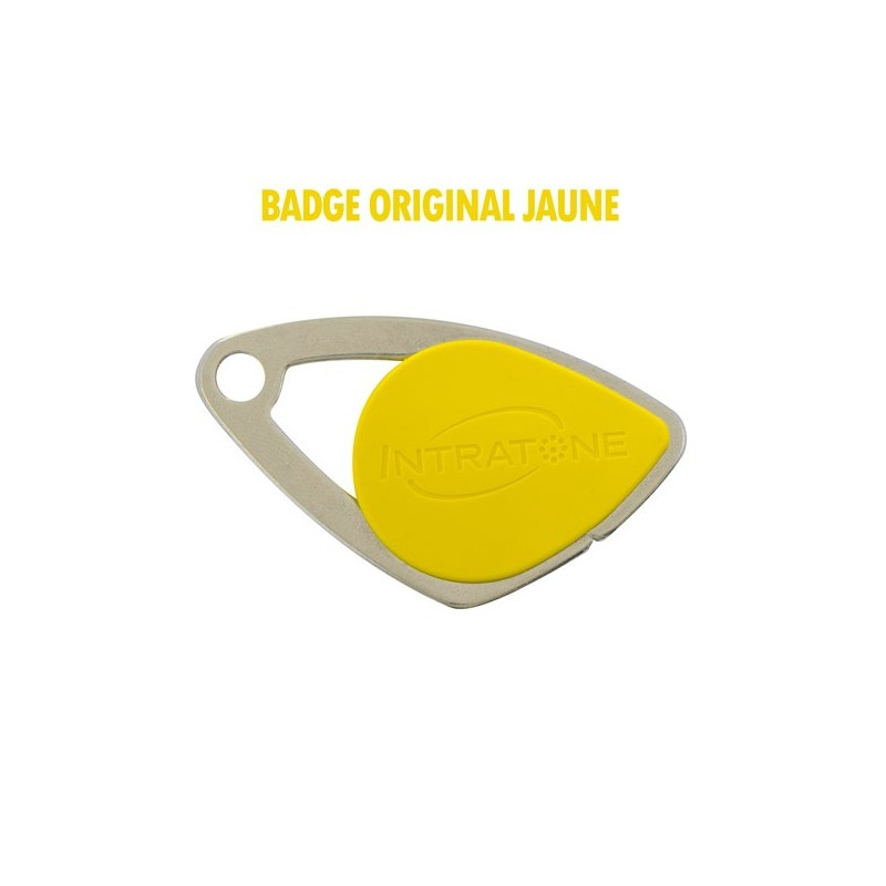 Vigik Badge Jaune INTRATONE INT08-0105